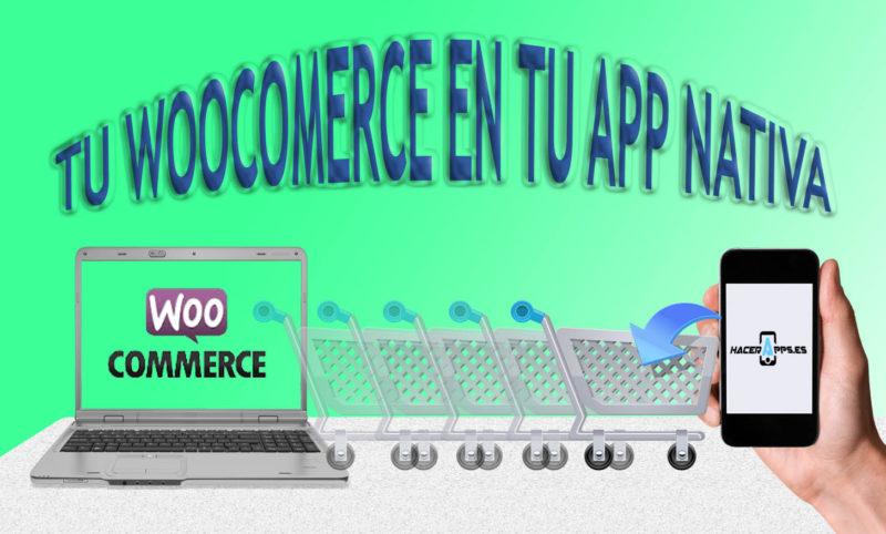 Integrar tu tienda de wooComerce en una App Uno de los principales inconvenientes de que los comercios y tiendas online amplíen su estrategia comercial mediante una aplicación móvil, es sin duda… continuar leyendo •••